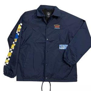 Vans x The Simpsons Torrey Windbreaker Jacket